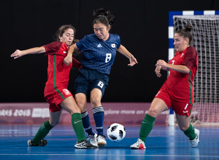 ... Futsal Womens Tournament Gold Medal Match between Portugal and Japan at  The Futsal Main Stadium, Tecnopolis Park. The Youth Olympic Games, Buenos  Aires, ... dad4e231cd